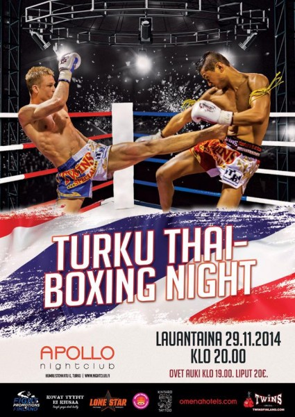 Turku Thaiboxing Night